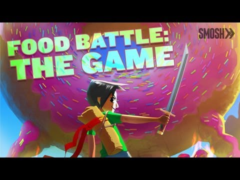 Let's Make Food Battle: THE GAME!!!
